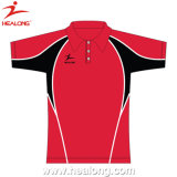 Full Dye Sublimation Men Slim Fit Polo Camisa Sports Wear