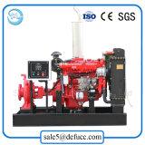 Alta bomba centrífuga de la irrigación de la sola etapa del flujo con el motor diesel
