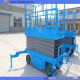 Scissor bewegliche manuelle hydraulische Sjy0.3-6 Aufzug-Tisch