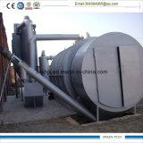 Máquina plástica de la gestión de desechos de 10 toneladas que consigue el petróleo de la pirolisis
