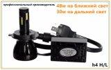 Bulbo impermeável H1 H3 H4 H7 H11 9005 do farol H5 farol de 9006 diodos emissores de luz