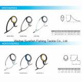 Guía de Rod doble de pesca del pie del Sic del titanio al por mayor