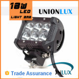 Vehicle automotor 18W LED de Road Light Bar