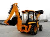 Tipo excavador del Jcb 3cx del cargador de la retroexcavadora de la alta calidad con Aguer/Breaker/4 en 1 compartimiento