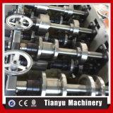 Rodillo galvanizado del marco de acero del calibrador de la luz del perfil de Omega de la mampostería seca que forma la máquina