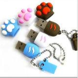 Memoria del USB del PVC di Coustom, azionamento del pollice di capacità elevata