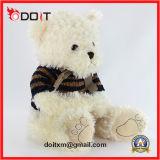 Urso feito-à-medida da peluche da camisola do urso da peluche com patas do bordado