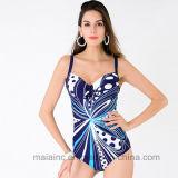 Qualität gedruckter Dame-einteiliger Bikini
