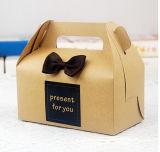 Packpapier-Tortenschachtel/Süßigkeit-Kasten-Kuchen-verpackenkasten Jd-Pb006