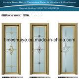 Aluminiuminnentür-Flügelfenster-Tür-Badezimmer-Türen