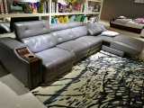 Sofá do Recliner, sofá de couro do ar, mobília Home L sofá da forma (666)