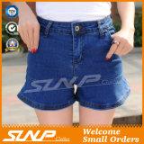 Alti Shorts del cotone del Jean delle donne di Waisted