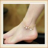 Neue Entwurfs-Perlen-und Metalteil-Form-Schmucksache-Fußkettchen