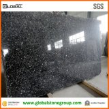 White/Black naturais Granite Slabs para bancadas, Vanity Tops Polished