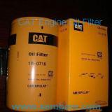 Filtro de óleo do motor de alto desempenho para escavadeira Caterpillar / carregador / escavadora