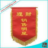 Flâmula do poliéster/poliéster que concede a bandeira/bandeira Bannerettes do indicador