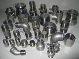 """1/8 """" de bocal da soldadura do aço inoxidável 316L DIN2999 da tubulação"""