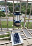 FMのラジオが付いている大きい力および明るさ4W太陽LED軽いランプのランタン