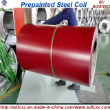 Bobina de acero cubierta color primero de los productos de acero de China para 0.14mm-0.8m m