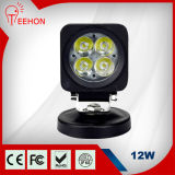 Bright 최고 12W 무겁 의무 LED Work Light IP68/Ce/FCC/RoHS
