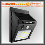 20 Licht van de LEIDENE SMD het ZonneSensor van de Motie voor Openlucht (sh-2600)