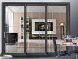 석쇠 디자인을%s 가진 최신 판매 3 궤도 열 틈 알루미늄 미닫이 문