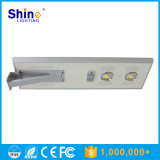 China fabricante Brigelux cuentas 70W LED luz solar integrada calle