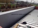 Impermeabilización de cubierta de TPO con larga vida útil