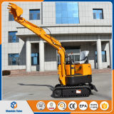 Mr08小型掘削機の農場掘る機械800kgクローラー掘削機中国は価格を作った