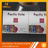 Etiquetas plásticas de envernizamento UV do vinho do ouro da cópia feita sob encomenda