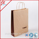 Kraft Brown Bolsas de papel Bolsas de papel Sacos de papel Twisted