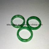De semi Ring van de Jade van de Edelsteen Groene