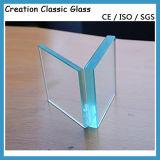 verre feuilleté clair de 6.38mm, glace Tempered stratifiée