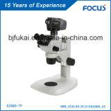 Microscope stéréo fiable de la qualité 0.68X-4.7X Digitals pour la microscopie de Traing