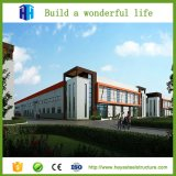 Construction à plusiers étages en acier moderne préfabriquée d'usine