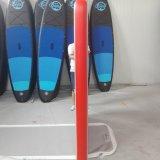 赤いカラー水恋人のための浮遊ヨガのマット