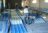 Strato ondulato variopinto traslucido resistente agli urti del tetto di luce solare di vetro di fibra dello strato di FRP