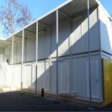 さまざまな目的のためのモジュラープレハブの移動式住宅建設