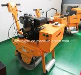 Rullo compressore vibratorio automotore del piccolo singolo timpano da vendere (FYL-600C)