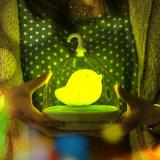 Del Birdcage la pequeña LED noche del USB de la luz del tacto del diseño enciende la luz del sensor del LED