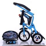 Kind-Multifunktions- und gefaltetes Dreirad, Baby-DreiradSpaziergänger, scherzt Dreirad