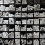 Barra piana di alluminio e barra quadrata