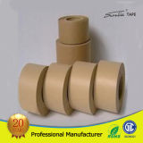 Embalaje de cartón marrón Cinta de papel Kraft