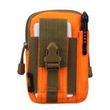 Sac occasionnel multifonctionnel de téléphone mobile de courroie en cuir d'usure de pochette de la pochette zéro de sac de sports en plein air (GB#C6)