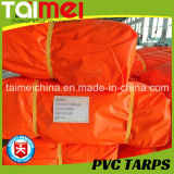 bâche de protection orange de PVC 400GSM pour la couverture de Trcuk