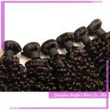 Producten die van het Haar van de mink de Indische de Maagdelijke Uitbreiding van het Menselijke Haar weven Remy