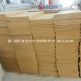 Yellow natural Sandstone para external Wall Cladding