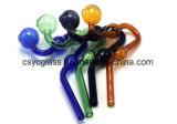 De kleurrijke Pijp van de Brander van de Olie van het Glas van de Slang voor de Waterpijp van het Glas