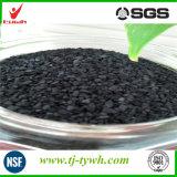 Porosité de charbon actif
