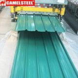 Il tetto ondulato del metallo riveste i rifornimenti dei comitati del tetto